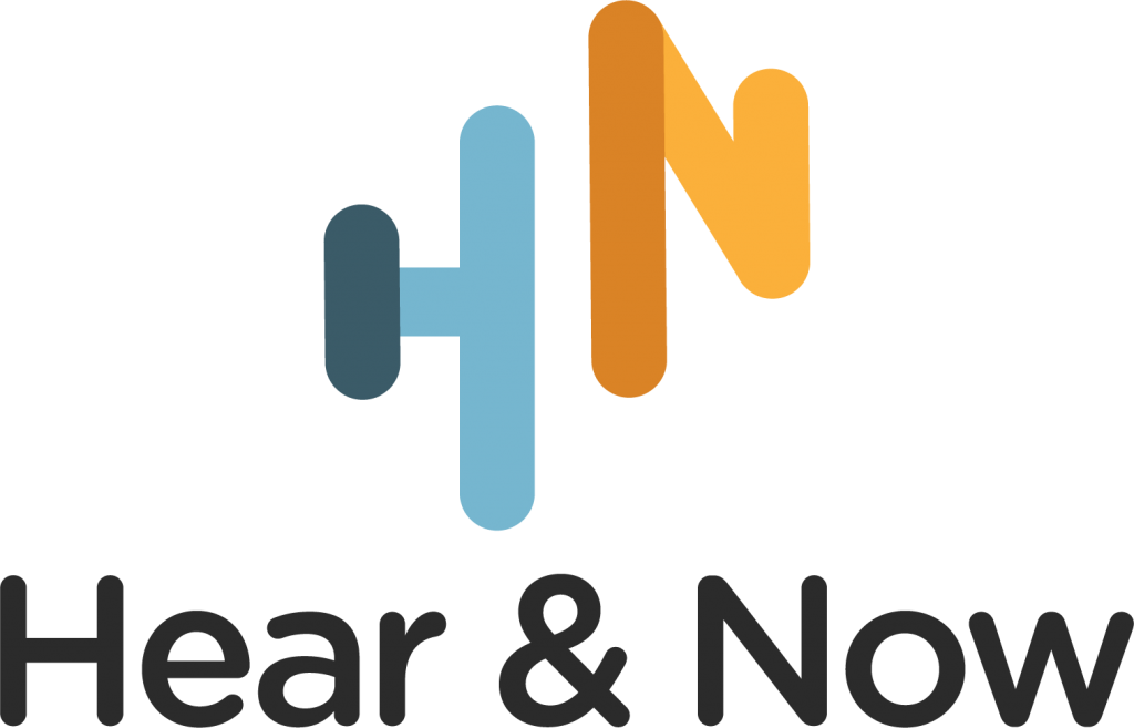 Hear and now logo